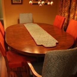 Rembourrage chaise de cuisine